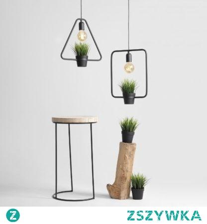 Idealna lampa nad wyspę w kuchni -  a w środku pachnące zioła:)