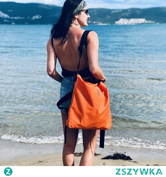Plecak/torba Mili Urban Jungle L - pomarańczowa