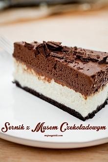 Składniki na spód: 160 g ciastek czekoladowych z nadzieniem typu Oreo, Neo 30...
