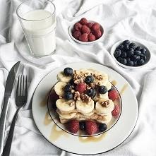 piękny deser lub śniadanie ^.^