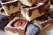 Dwukolorowe ciasto na oleju...