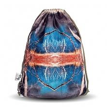 Plecak - Niebieska symetria