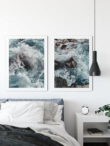 Dwa plakaty - Ocean