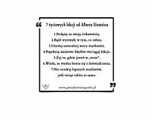 7 życiowych lekcji od Alber...