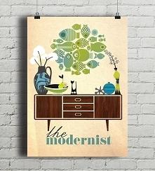 Modernizm - plakat giclee
