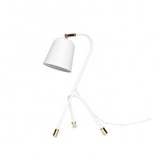Lampa stołowa Dalia biała m...