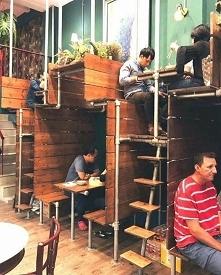 optymalizacja przestrzeni w restauracji ;)