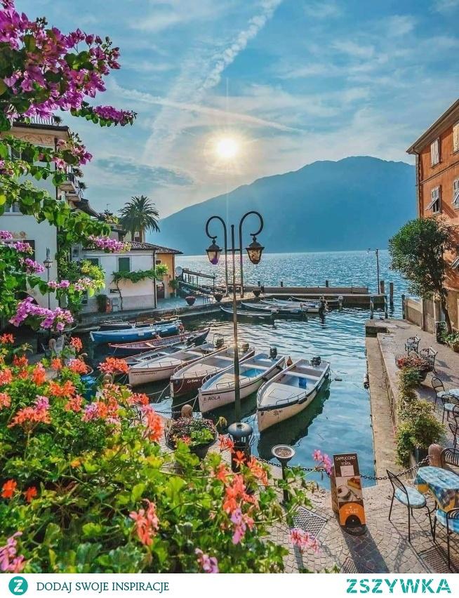 Limone sul Garda (Włochy), fot. @curly.beard