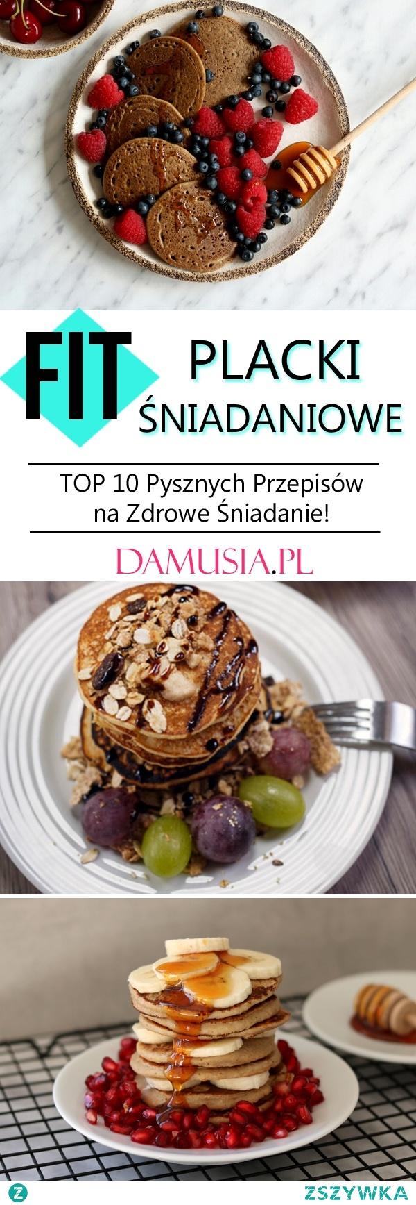 FIT Placki Śniadaniowe – TOP 10 Pysznych Przepisów na Zdrowe Śniadanie!