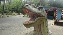Park dinozaurów w Szklarski...
