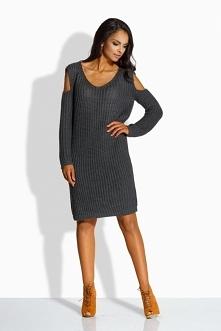 Damski sweterek sukienka da...