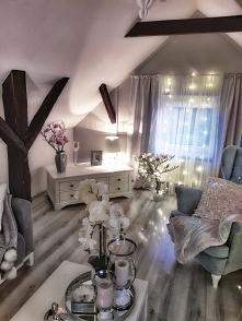 Przytulny salon fotel uszak