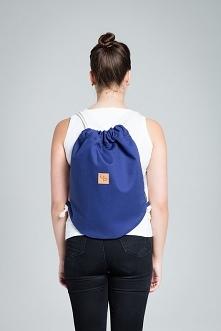 Granatowy plecak - Lootbag ...