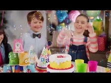 """Bańkowy tort z piosenką - Fru Blu - """"Sto Lat i """"Happy Birthday od TM Toys zabawkitotu.pl"""