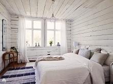 sypialnia, drewno, deski