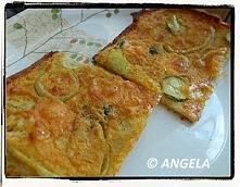 Farinata z cukinią - Zucchi...