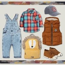 Zestaw ubrań dla chłopca w wieku przedszkolnym na sezon jesień 2019