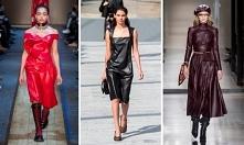 Skórzane sukienki