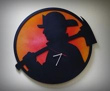Zegar wykonany dla strażaka :)