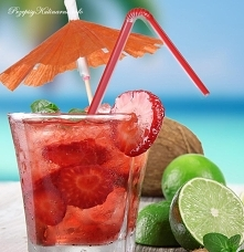 Drink truskawkowy