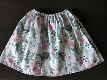 Taka spódniczkę sobie uszyłam :)
