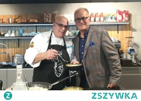 Warsztaty kulinarne Giancarlo Russo