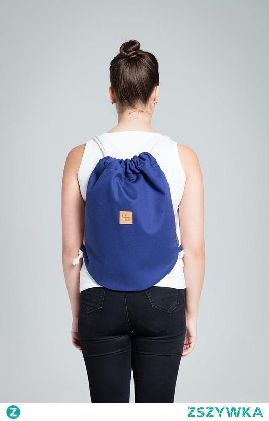 Granatowy plecak - Lootbag mini / blue
