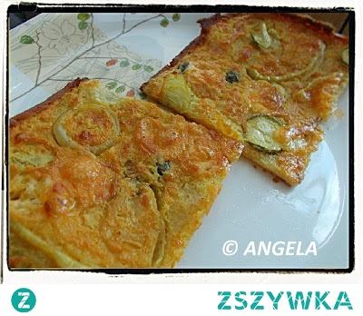 Farinata z cukinią - Zucchini Farinata Recipe - Farinata (cecina) con le zuchine