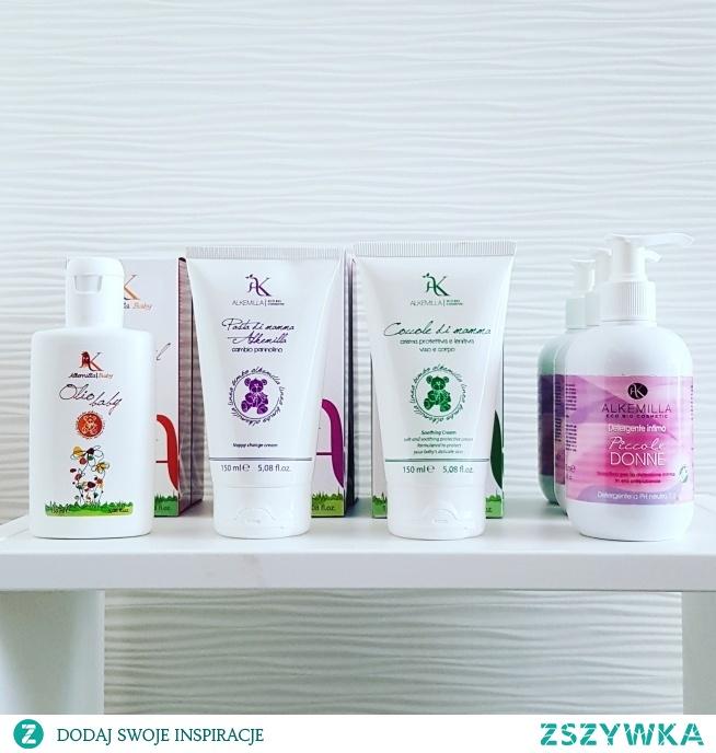 Wegańskie kosmetyki naturalne dla dzieci i niemowląt Alkemilla Eco Bio Cosmetics dostępne w sklepie Biolinea