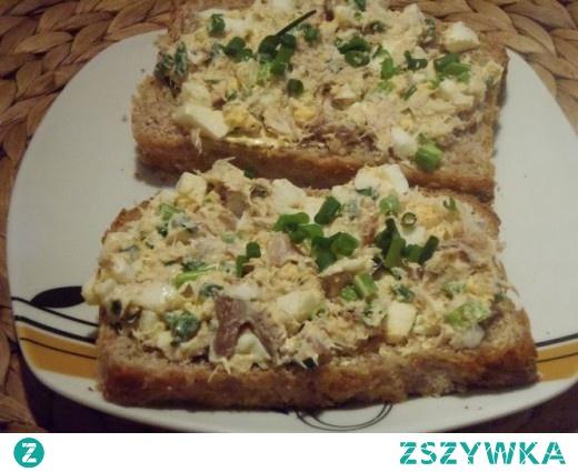 Tradycyjna pasta z makreli