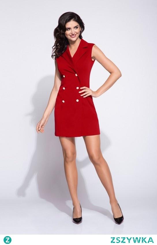 Dwurzędowa sukienka <3