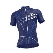 Koszulka rowerowa dla mężczyzn na rower. Zapinana na pełny zamek, z szybkoschnącego poliestru