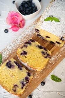 Ciasto z borówkami amerykań...