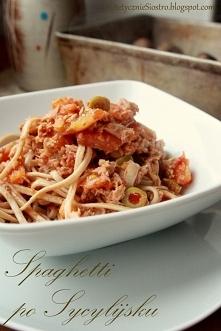 Spaghetti Siciliano