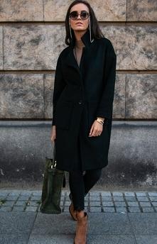 Elegancki płaszcz z alpaki ...