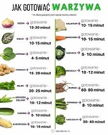 Jak długo gotować warzywa?