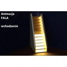 Oświetlenie LED schodowe św...