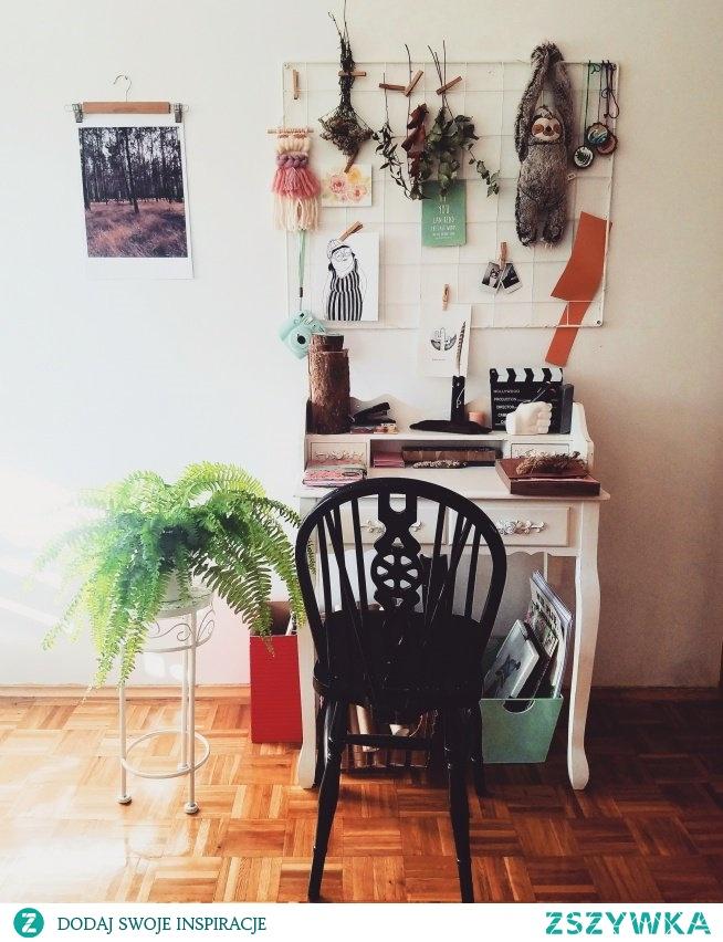 Nasz organizer u pracownia.kurpiowska (Instagram)  Tablice/organizery na ścianę znajdziesz u NASZE DOMOWE PIELESZE  foto: pracownia.kurpiowska