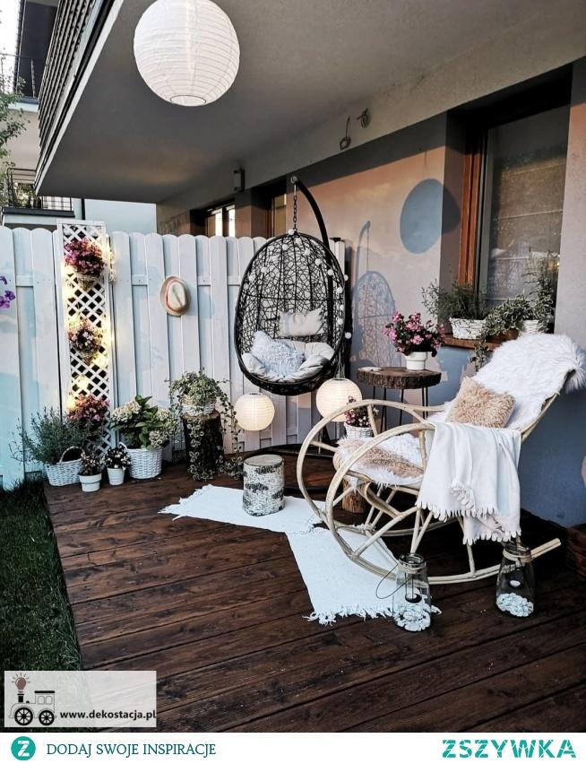 Zapraszam do postu w ktorym są same pomysły DIY na to jak zaaranżować mały miejski ogródek.