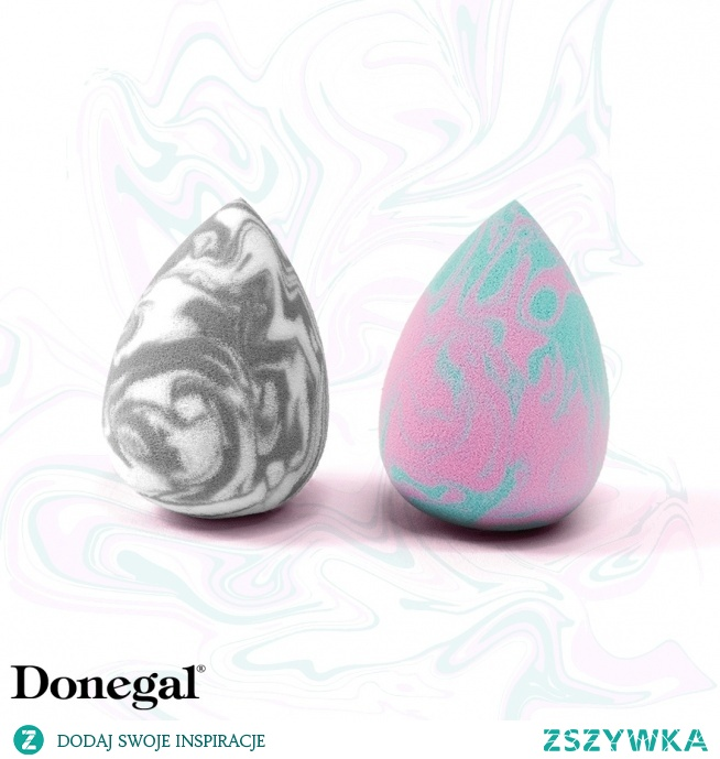 Jedna elegancka druga słodka :)   Blending Sponge by Donegal