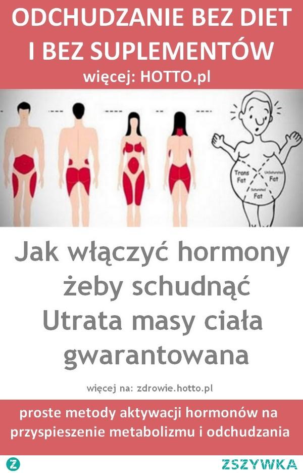 ODCHUDZANIE BEZ DIETY. Jak włączyć hormony i schudnąć - ZRÓB TAK, JAK RADZĄ ENDOKRYNOLODZY i SCHUDNIJ. Utrata masy ciała gwarantowana.