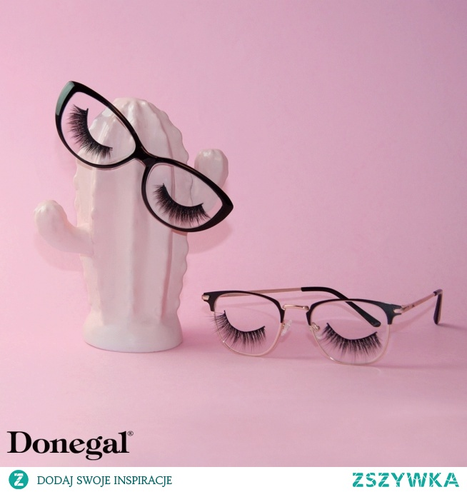Sztuczne rzęsy na pasku potrafią zastąpić nawet najbardziej finezyjną stylizację makijażową.   Make-up by Donegal