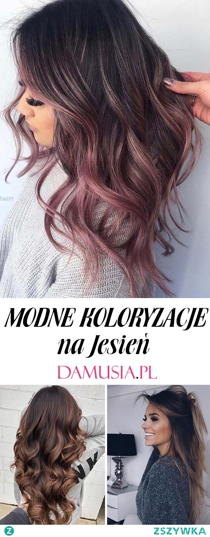 Modne Koloryzacje na Jesień – TOP 20 Ciekawych Inspiracji na Włosy