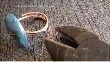 regulowany pierścionek diy