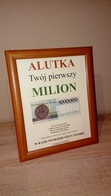 Pierwszy milion Alutki