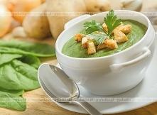 Zupa krem szczawiowy z ziem...