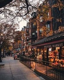 Ulice jesienia ^^