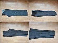 jak zwęzić spodnie w nogawkach diy