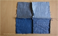 diy torba z dżinsów