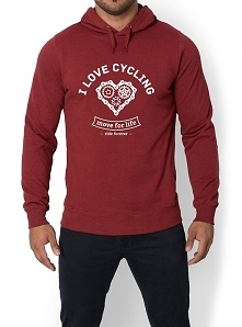 Bluza melanżowa. I love cyc...